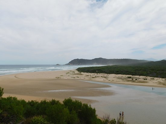 Sedgefield, South Africa: Lagoon Mouth