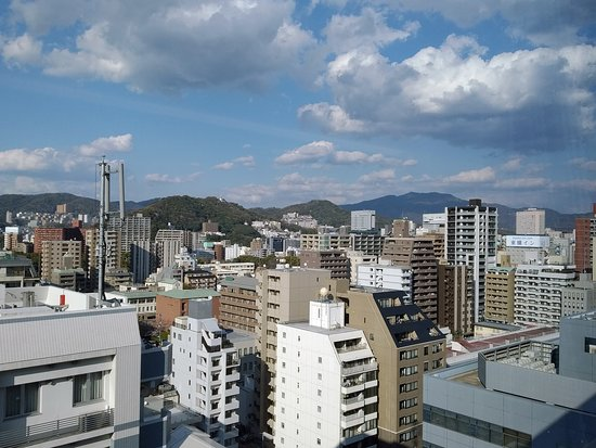 Hotel Intergate Hiroshima: На город