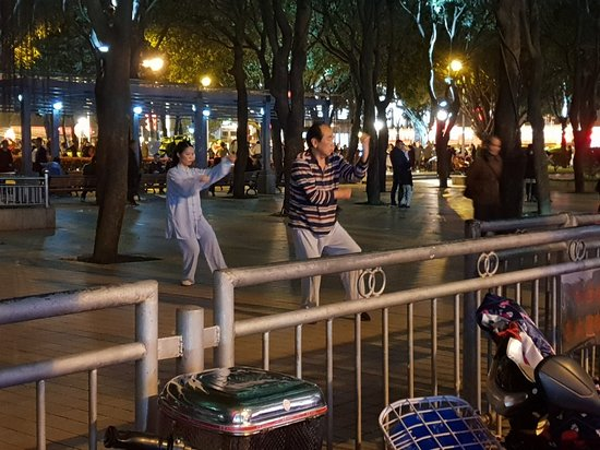 Tai Chi in Wuyi Square Park