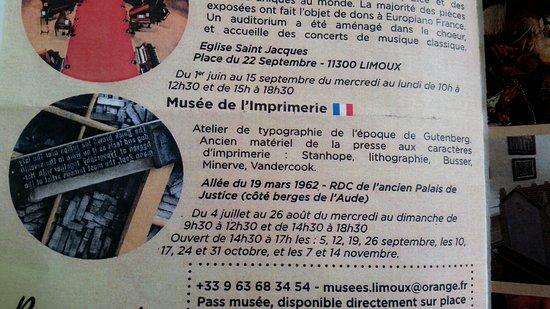 Musee de L'imprimerie