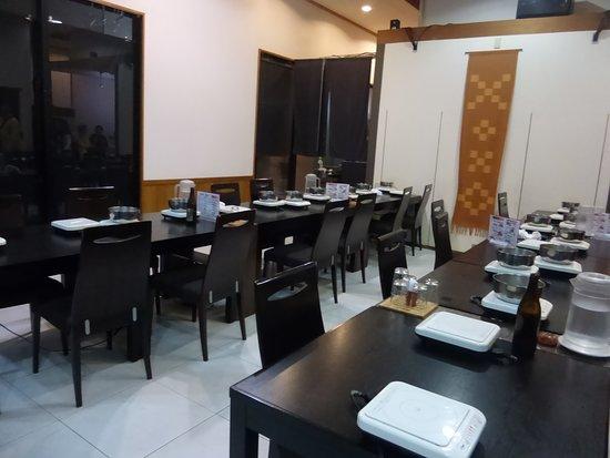 Waryu Dining Mifune: 店内風景