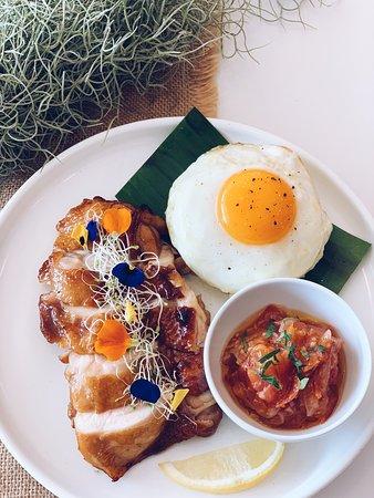 Grilled Chicken with Balinese Salsa