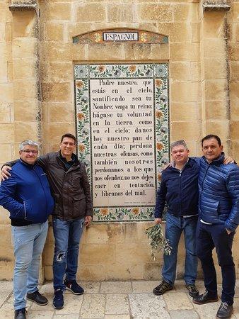 Con Pedro Jesús, José Luis, Antonio y Pablo, cerrajerias de España. Pater Noster