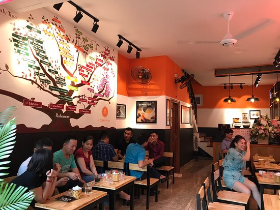 E-Coffee Premium 5A Hoàng Văn Thụ - Hải Phòng ( Thuộc Hệ thống Quán Cà phê chất lượng cao E-COFFEE Việt Nam)