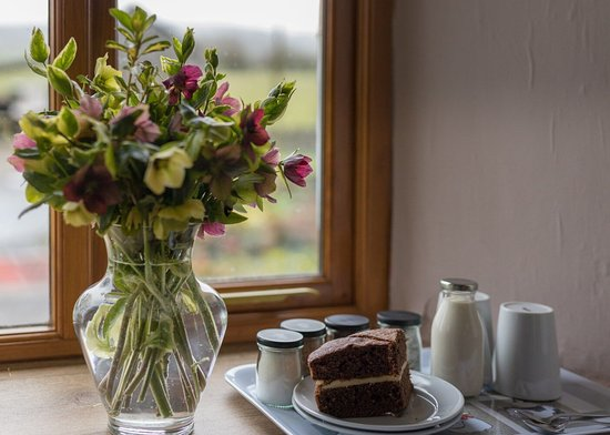 The Farmhouse room - homemade cake served daily