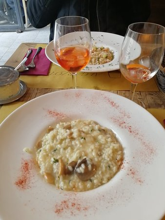 Excellent risotto