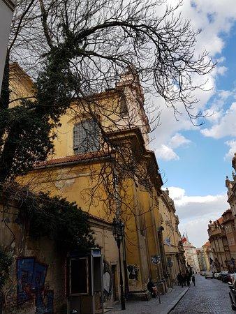 Nerudova Street: Beautiful architecture