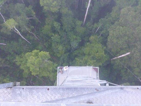 Alta Floresta, MT: uitkijktoren Cristalino lodge