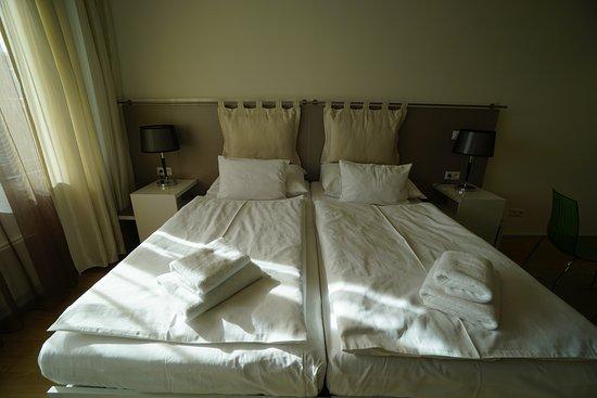 Wenceslas Square Terraces: Bed