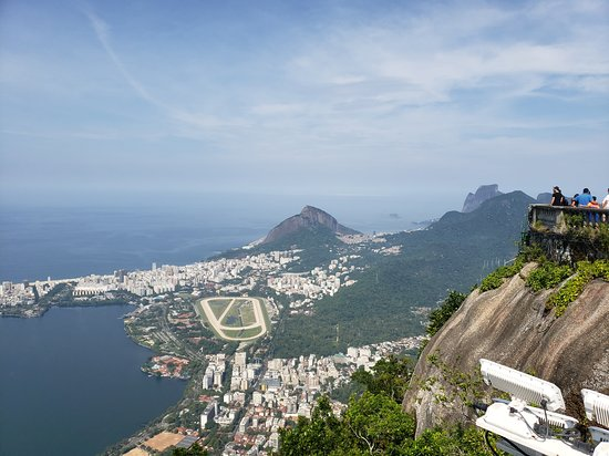 Morning Tour to Christ Redeemer Statue, Sugar Loaf Mountain including Barbeque: View of city from Christ