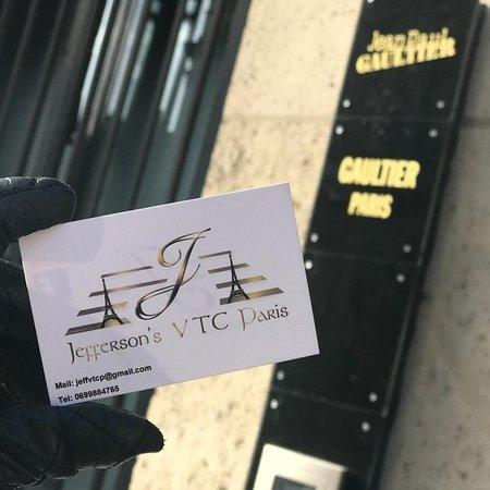 JEFFERSON'S VTC PARIS