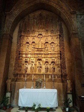 """барельеф """"Алтарь из статуй"""" 1440-1441 г. (Микеле да Фиренце)"""