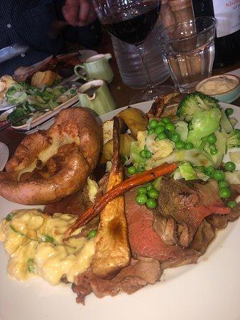 Fantastic Sunday Roast and Hospitality