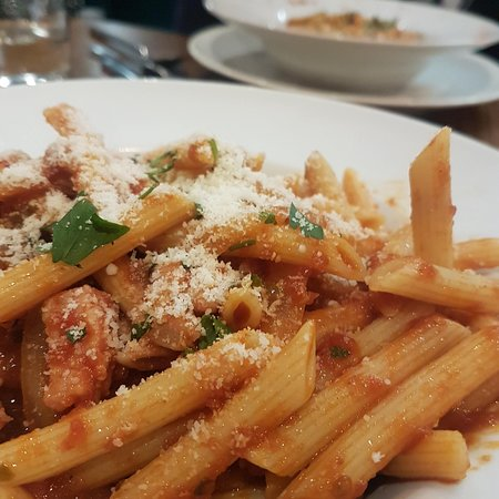 The classic Penne Matriciana