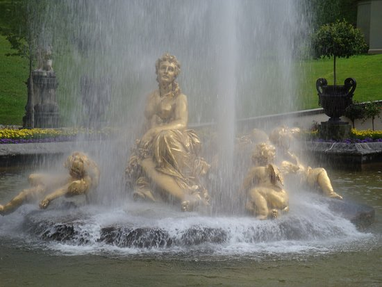 Fontana del Palazzo di Linderhof