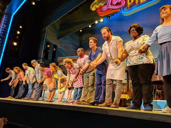 תמונה מWaitress The Musical