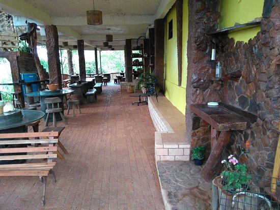 Planaltina, GO: Seja bem-vindo - entrada da casa sede