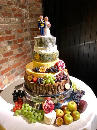 Brown's of Bexley: One of our cheese wedding cakes