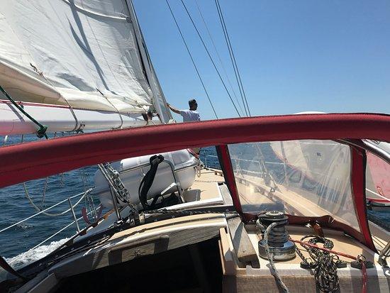 Sailing the Bay of Banderas