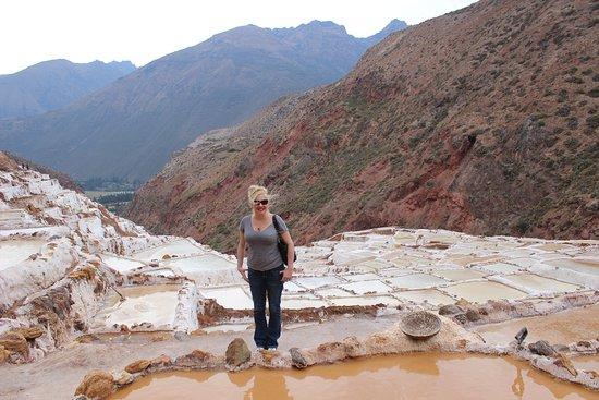 Salt Flats in Peru