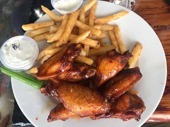 Buffalo Wings and Fries