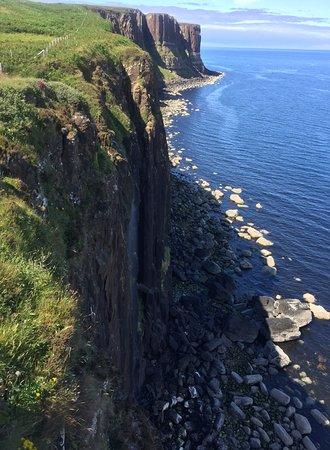 Steilküste am Kilt Rock