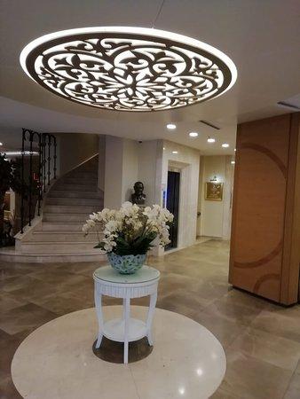 красивое оформление отеля