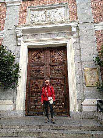 Puerta de la fachada.