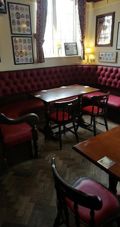 Clifford Arms: Got our upholstery polished up and some new furniture in the bar.