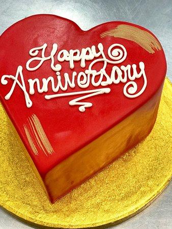 NY Cake Cafe: anniversary cake