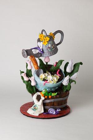 NY Cake Cafe: garden cake