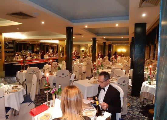Grand Hotel Terme & Spa: salone cena