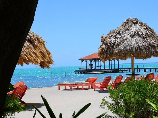 Oceanside cabana view