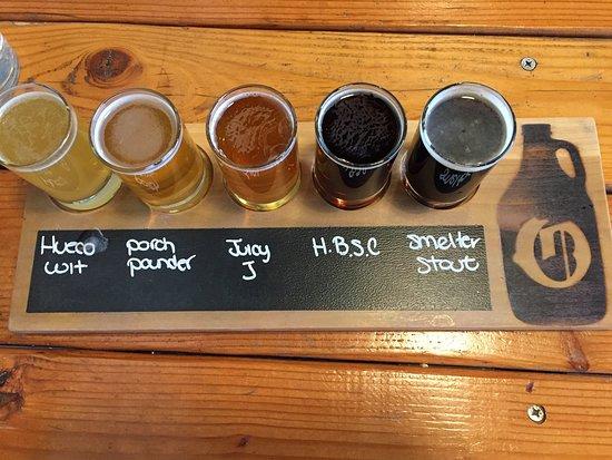 Ode Brewing Company: Beer Sampler Flight