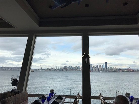 looking back into Seattle...what a view
