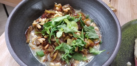 trumpet mushroom, this dish is warm and comforting