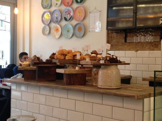 Angie's Little Food Shop: Lots of delicious treats on display, I suggest you try some