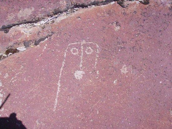 Lagunas de Epu Lauquen: Petroglifo 1