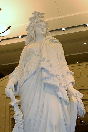 Statue of Freedom in Capitol rotunda