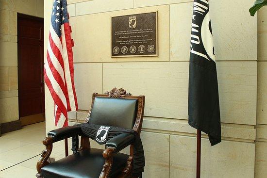POW-MIA Memorial Chair
