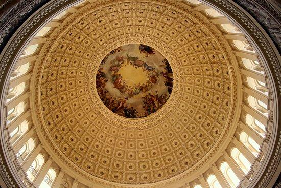 Rotunda dome (looking up)