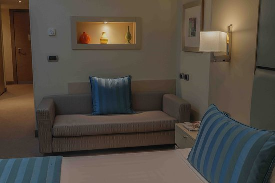 Port Palace Hotel: Deluxe avec Sofa