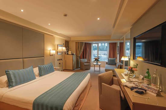Port Palace Hotel: Chambre Deluxe avec accueil VIP