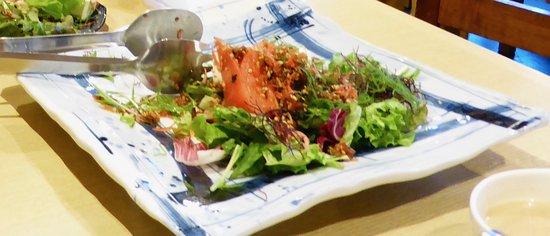 Kawatoyo Bekkan: Tofu and Jako Salad