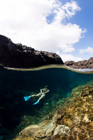 Crystal Pool underwater