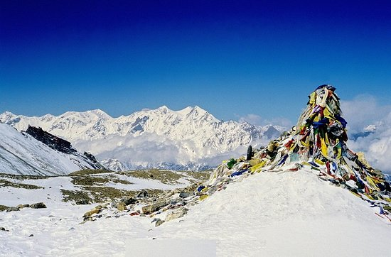 world Highest pass Thorong la pass Trekking  from merit adventure