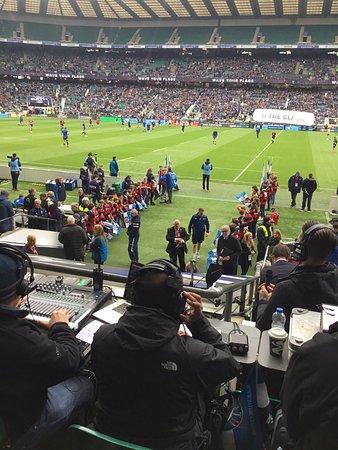 Twickenham Stadium: Brilliant Atmosphere