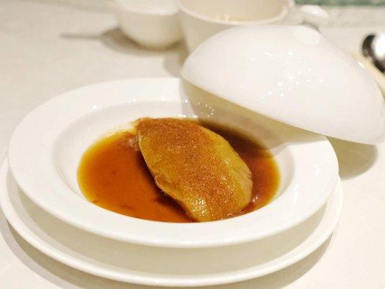 Golden Bauhinia Cantonese Restaurant: 蝦籽扣柚皮