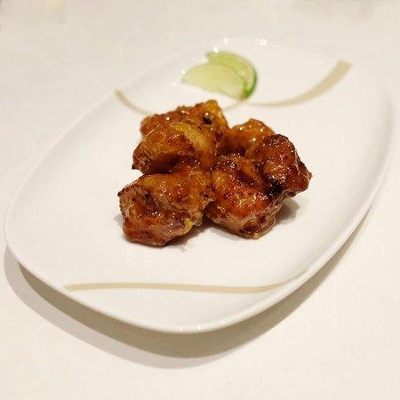 Golden Bauhinia Cantonese Restaurant: 梅醬青檸焗肉排