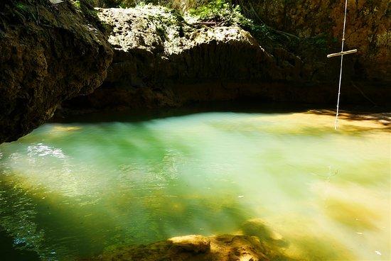 El Valle, Доминикана: cascada lulu sin agua